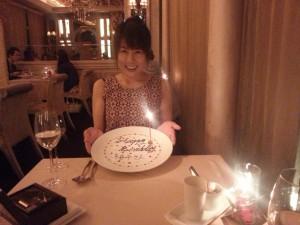 お誕生日 裕子